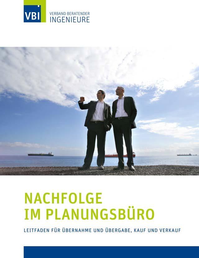 VBI-Leitfaden Nachfolge im Planungsbüro in neuer Auflage