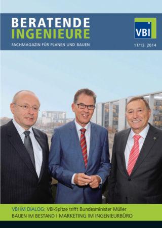 VBI-Magazin Nr. 11/12 2014 - VBI IM DIALOG: VBI-Spitze trifft Bundesminister Müller