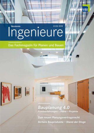 VBI-Magazin Nr. 01/02 2018 - Bauplanung 4.0