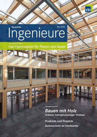 VBI-Magazin Nr. 05/06 2018 - Bauen mit Holz