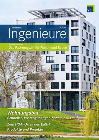VBI-Magazin Nr. 07/08 2019 - Wohnungsbau 2020
