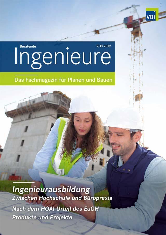VBI-Magazin Nr. 09/10 2019 - Ingenieur-Ausbildung