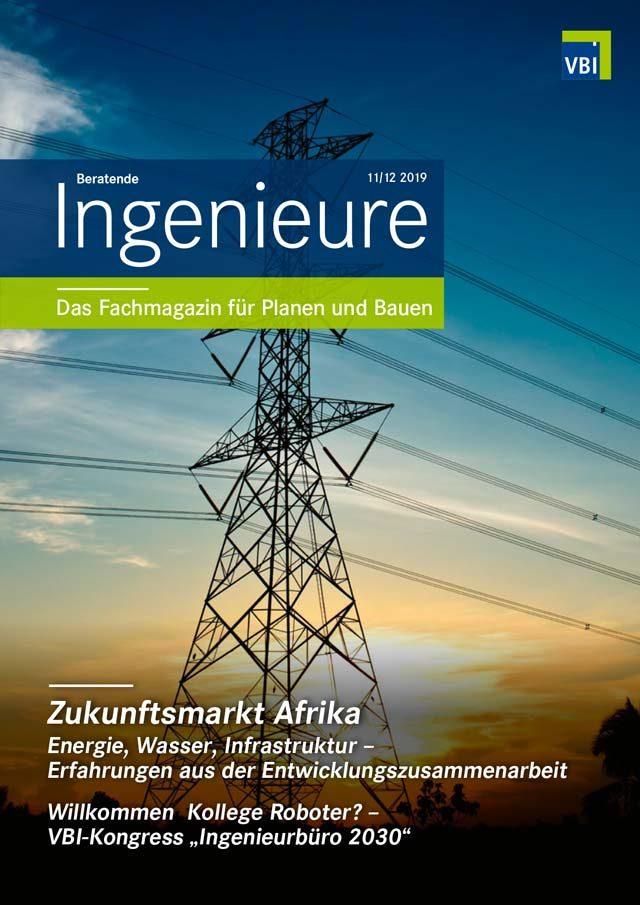 VBI-Magazin Nr. 11/12 2019 - Zukunftsmarkt Afrika