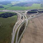 Autobahn-Baustellenbild