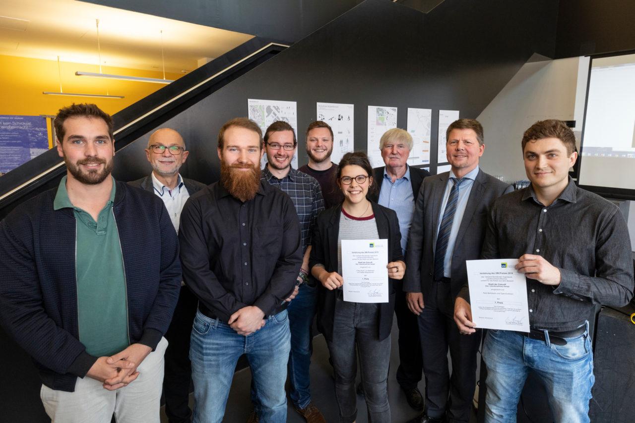 Gewinner des VBI-Preises 2019 mit den Auslobern