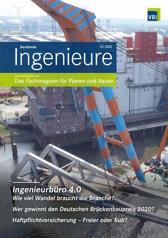 VBI-Magazin Nr. 01/02 2020 - Ingenieurbüro 4.0