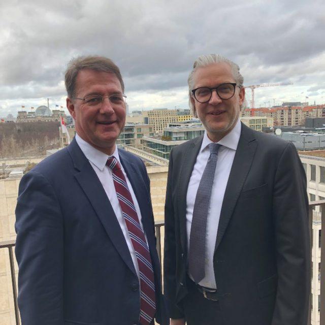 VBI-Präsident traf Autobahn-GmbH-Vorstand Adler