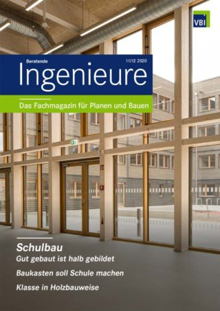 VBI-Magazin 11/12 2020 - Schulbau