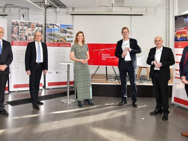 Rethebrücke und Trumpfsteg gewinnen Brückenbaupreis
