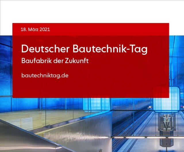 VBI auf dem Deutschen Bautechnik-Tag 2021