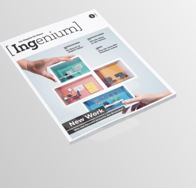 Neues VBI-Magazin: Ingenium Nr. 2 ist erschienen