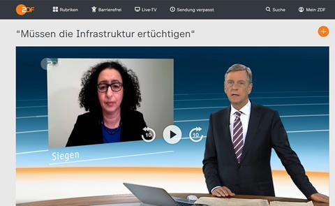 Messari-Becker im ZDF: Wir müssen jetzt handeln